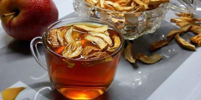 Любимый чай, да с сушеными яблочками
