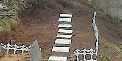 Мини огородик на склоне