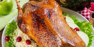Птица к Рождеству: мастер-классы по приготовлению гуся и утки