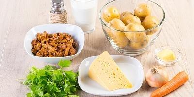 Мастер-класс: запеканка из картофеля с лисичками