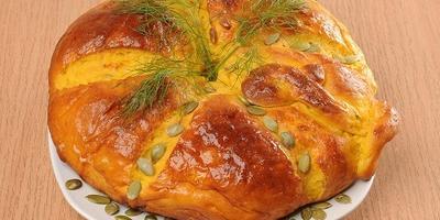 Мастер-класс: тыквенный хлеб
