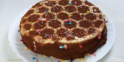 Медовый торт «Соты»