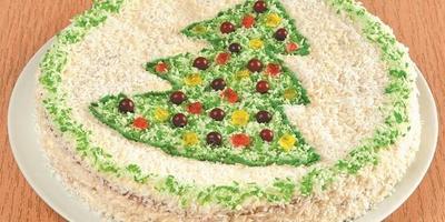 Старый Новый год: 5 рецептов красивых праздничных тортов