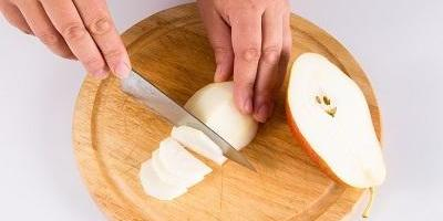 """Мастер-класс """"Мини-пудинг с грушами и яблоками"""""""