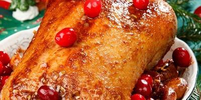 Блюда из птицы к новогоднему столу