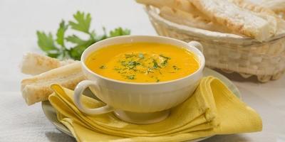 Постные блюда:  8 витаминных супов-пюре