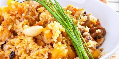 Плов с курицей и курагой: новый вкус любимого блюда