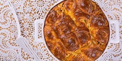 Месеница с брынзой - традиционный болгарский пирог