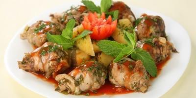 Чахохбили из курицы: добавьте грузинского колорита в меню