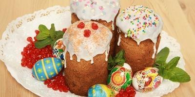 Куличи с цукатами - яркий вкус в праздник Светлой Пасхи