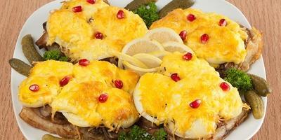 Рыба по-московски с аппетитной сырной корочкой