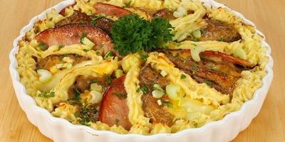 Мясо в картофельном пюре: запеканка, которую оценят мужчины