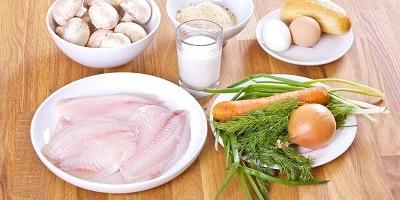 Рыбные зразы с грибной начинкой - такой ужин понравится всем!