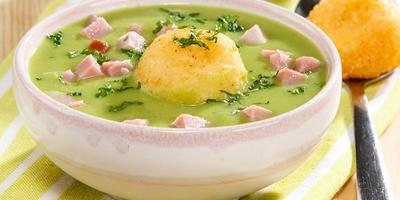 Суп-пюре с картофельными шариками - все будут накормлены и довольны
