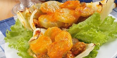 Лодочки из капусты - вкусное блюдо из самых простых продуктов