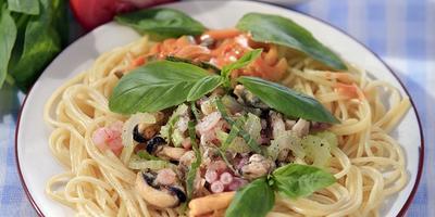 Спагетти с морепродуктами: почувствуйте вкус солнечной Италии