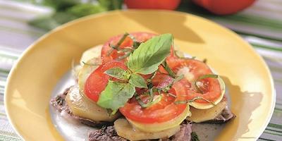 Баранина с лучшими летними овощами - коронное блюдо на праздничном столе