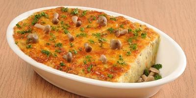 Картофельное суфле с грибами. Вы не пожалеете о потраченном времени
