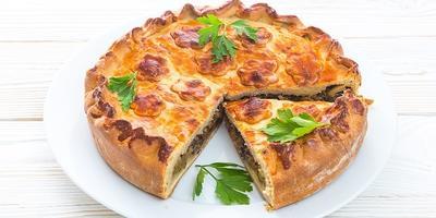 Пирог с капустой и грибами: на запах подтянутся все домашние