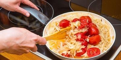 Ужин по-немецки - свиная рулька с кислой капустой