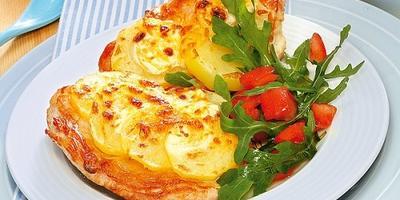 Индейка под аппетитной сырной корочкой