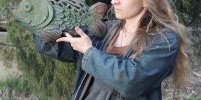 Мой первый опыт изготовления скульптуры из бетона (мастер- класс)