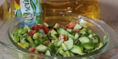 Дачный салатик