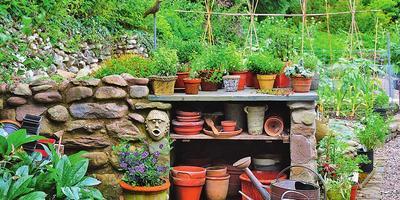 Мастер-класс: садовый экспресс-стеллаж