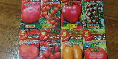 Получение посылки с семенами