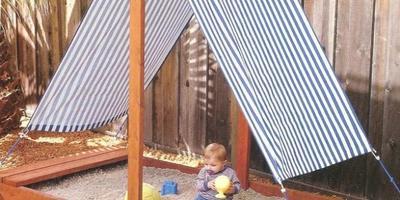 Детские постройки на даче своими руками