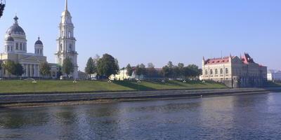 Путешествие по Волге. Город Рыбинск