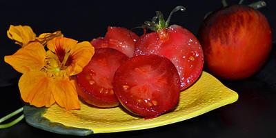 Удивительный томат - Дамаск стали (Damascus Steel)