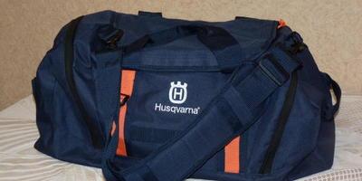 Сумка Husqvarna – необходимая вещь для посещения фитнес-центра!