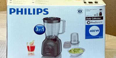 Замечательный приз за фотоконкурс - блендер электрический Philips HR2102!!!