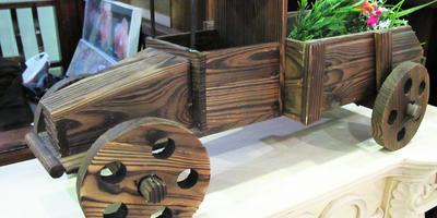 Необычный декор для дома и участка на выставке ДОМ и САД. Moscow Garden Show 2015