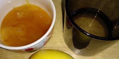 Осенняя шарлотка с медом и лимоном в мультиварке VITEK