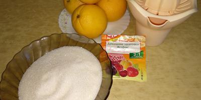 Обещанный рецепт апельсинового конфитюра