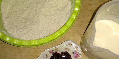 Самое рассыпчатое печенье - на майонезе с черничным джемом