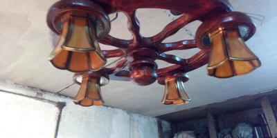 Записки старого ворчуна. Делаем светильники из дерева (продолжение)