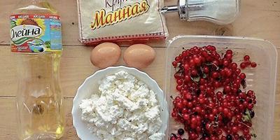 Гратен с красной смородиной - десерт с французским шармом
