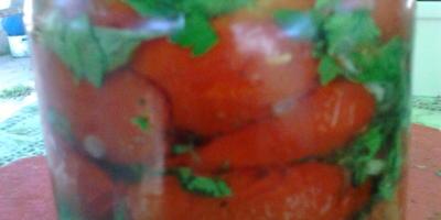 Вяленые помидорки