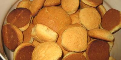 Домашнее печенье из рассола