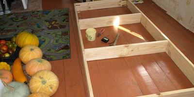 Мебель из досок-1