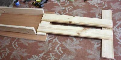Мебель из досок-2