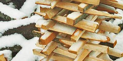 Инсталляция из дров