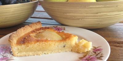 Французский грушевый тарт