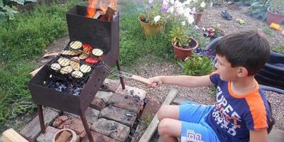Блюдо на огне и дачные закуски!
