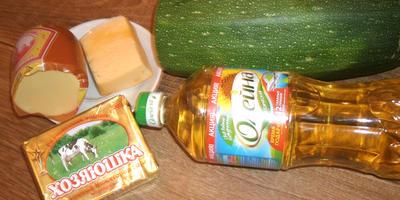 Кабачок под сырной корочкой