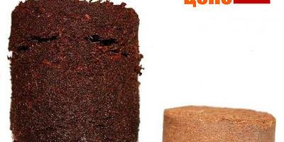 Кокосовые и торфо-перегнойные таблетки для проращивания семян
