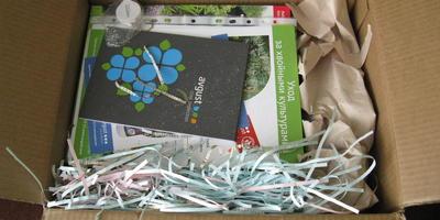 Пришел приз за  Школу защиты растений